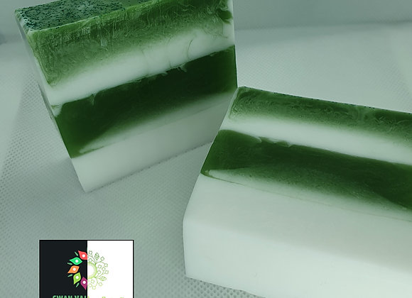 French Pear Stripe Block