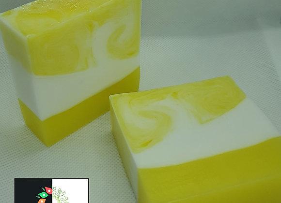 Lemon Swirl Block