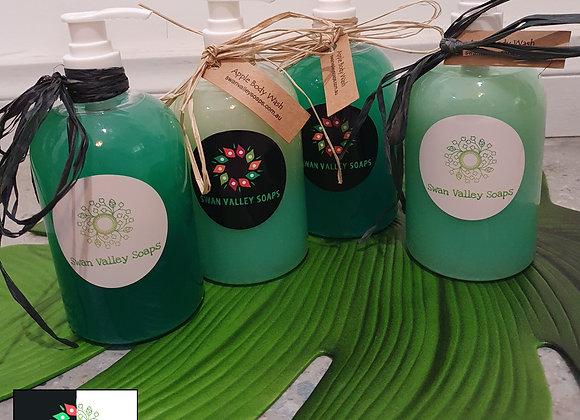 Green Apple Hand & Body Wash Liquid Soap 500ml