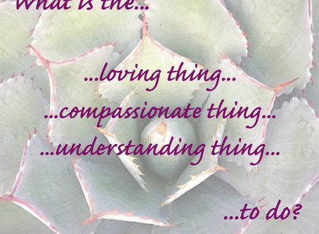 Community, Compassion, Consideration... and COVID