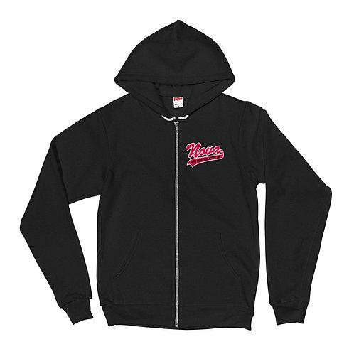 Nova Black Hoodie Sweatshirt