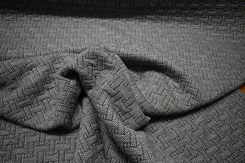 Basket Weave Double Layer Knit