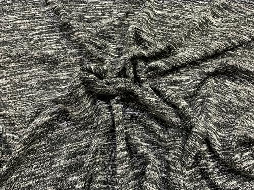 Grey Random Knit
