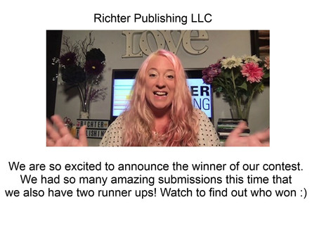 Won the first prize in Richter Publishing writing contest!