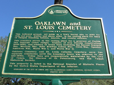 Oaklawn Cemetery - from short study on how gravestones reflect cultural changes.