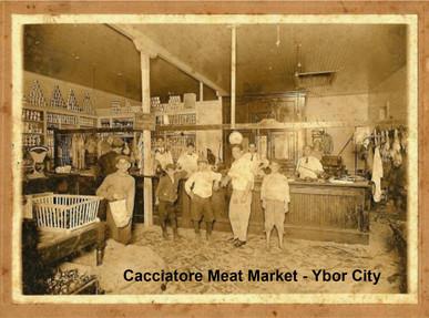 Cacciatore Meat Market in Ybor City - Tampa, Florida