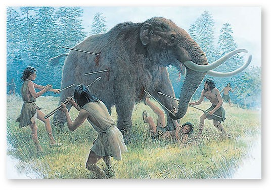 Wooly mammoths - State of Florida