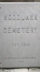 Woodlawn Cemetery - established in 1888, Tampa, Florida