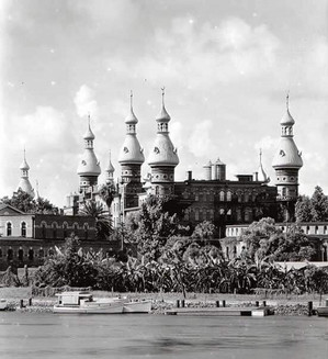 Another view of The Tampa Bay Hotel which later became The University of Tampa.