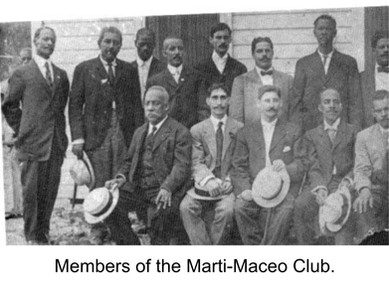 Members of La Union Marti-Maceo consisted of black and white members (until external pressures caused segregation).