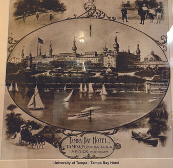 Elegant Tampa Bay Hotel - a destination for the rich visiting Tampa, Florida
