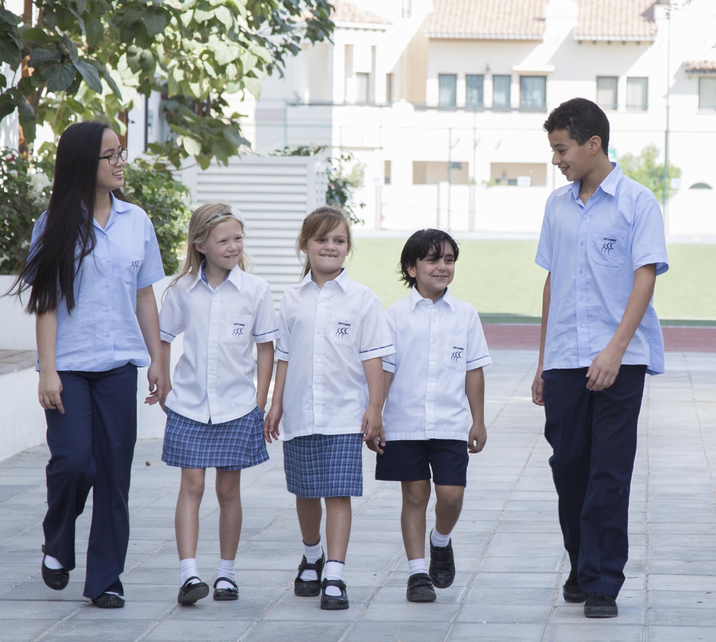 Uptown School Students