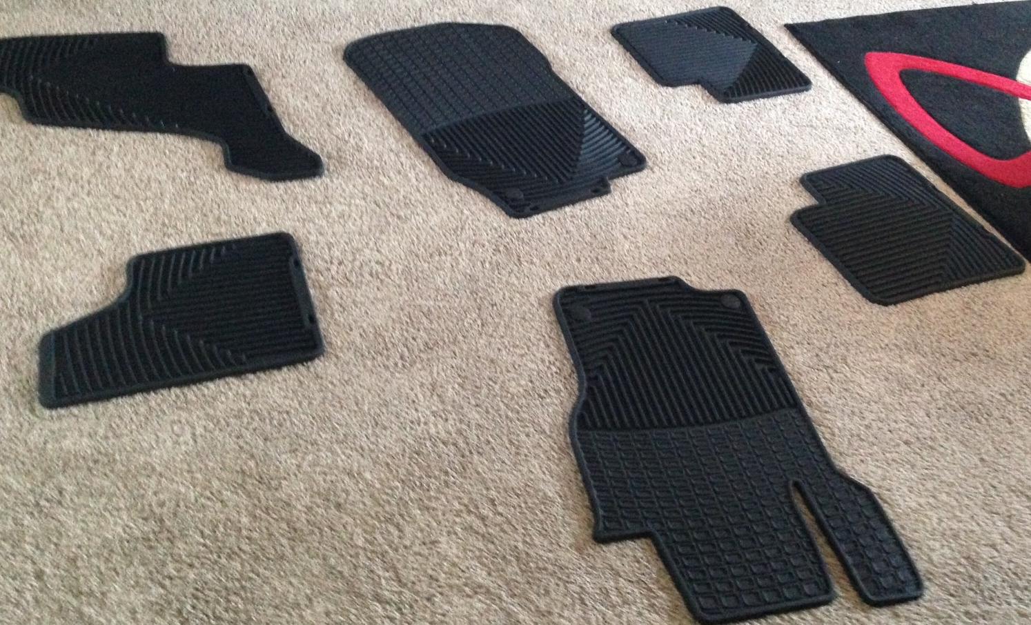 Mercedes Benz GL floor mats