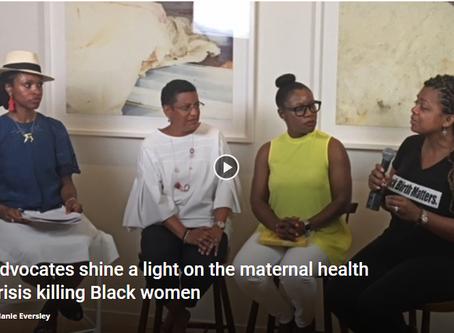 Advocates shine a light on the maternal health crisis killing Black women