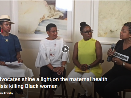 Advocates shine a light on the maternal health crisis killing Black women