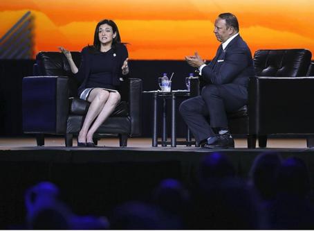 Pay gap holds black women back, says Facebook COO Sheryl Sandberg