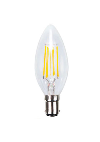SBC - LED Filament Candle Lamp - 10 Pack