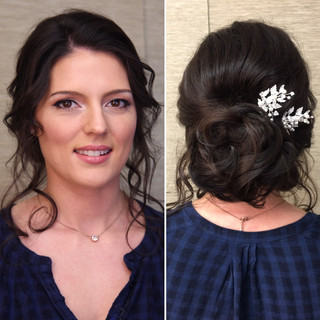 Special occasion hair and makeup