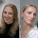 Brides before & after