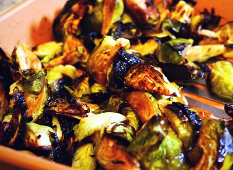 Roasted Brussels Sprouts - Yes Please!⁣