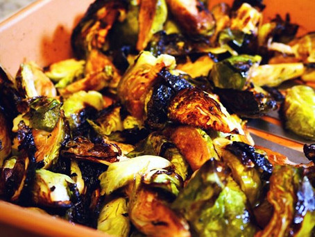 Roasted Brussels Sprouts - Yes Please!