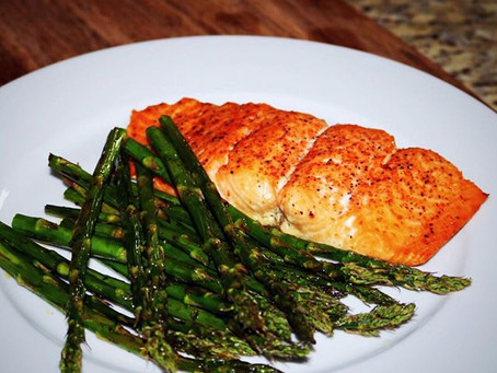 Oven Roasted Salmon & Asparagus