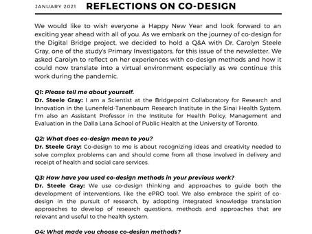 Views from the Digital Bridge: January 2021 update