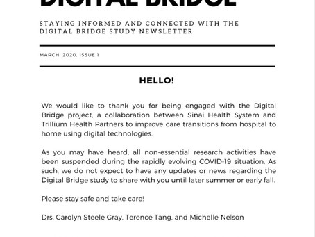 Views from the Digital Bridge: March 2020 Updates