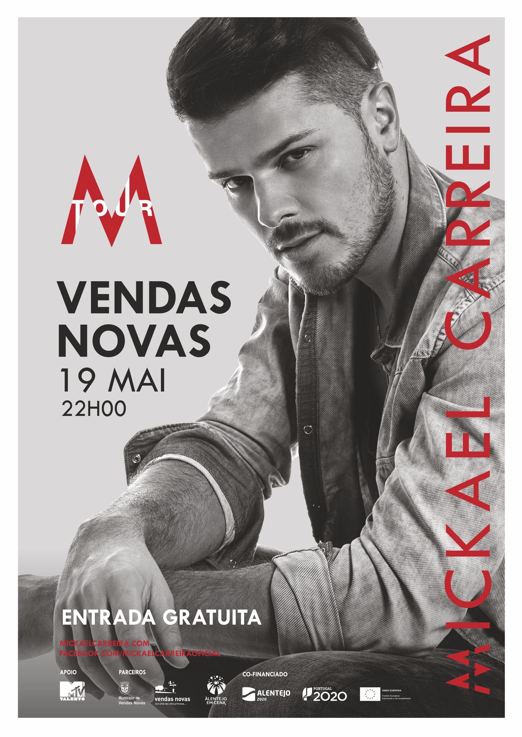 Cartaz Mickael Carreira
