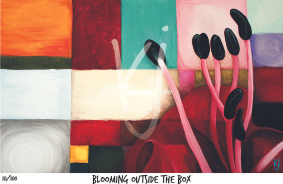 Blooming Outside the Boxes