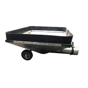 Conveyair suction hopper for grain vacs