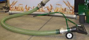 Conveyair Grain Vacs TUFF PolyFlex VHD cleanup hose.