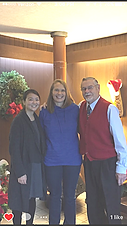Dr. Robert J. Bendzak and Dr. Eugenia Lee with mom of an orthodontic patient in braces in Kenmore Dental Clinic