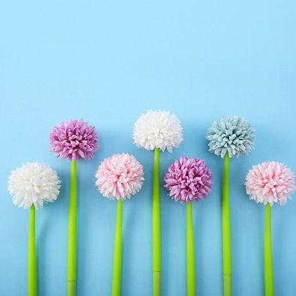 Chrysanthemum Pen - Blue