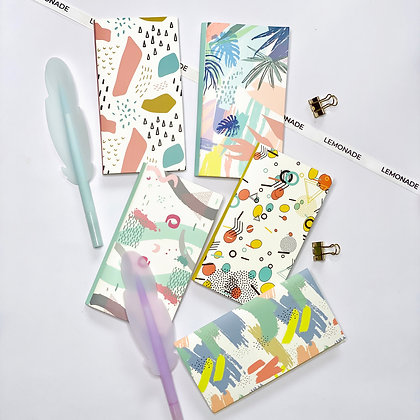 Post It's + Notepad Set - Memphis Pink