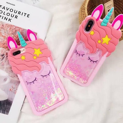 iPhone X/XS Cover - Sleeping Unicorn