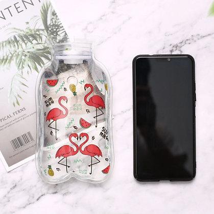 Mini Hot Water Bags - Summer Flamingo