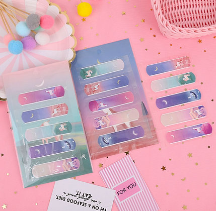 Bandaids - Unicorn - Set of 5