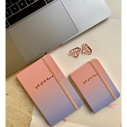 Mini Notebook - Get Stuff Done - Pink