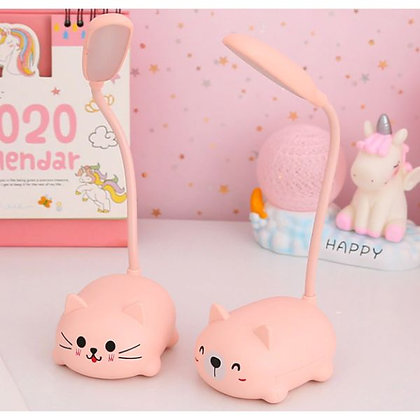 Cute Table Lamp with USB cable - Pink
