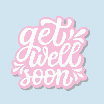 Digital Gift Card - Get Well Soon