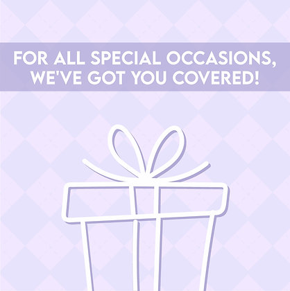 Digital Gift Card - For Special Occasions