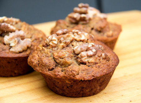 Delicious Banana Walnut Muffins You Won't Feel Guilty About Snacking On