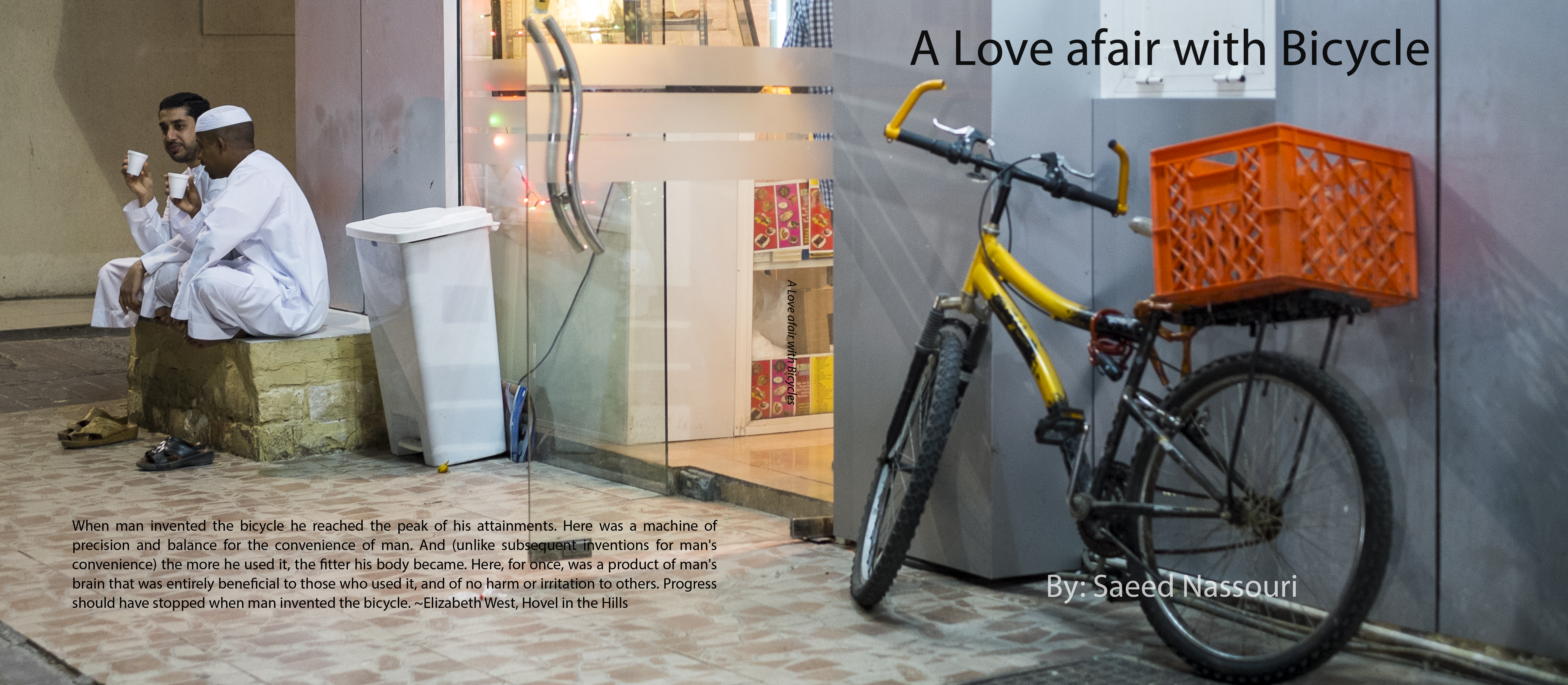 A Love afair with Bicycle Cover.jpg