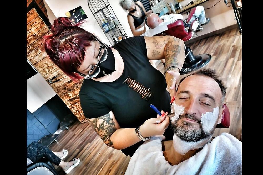 Barber Woman