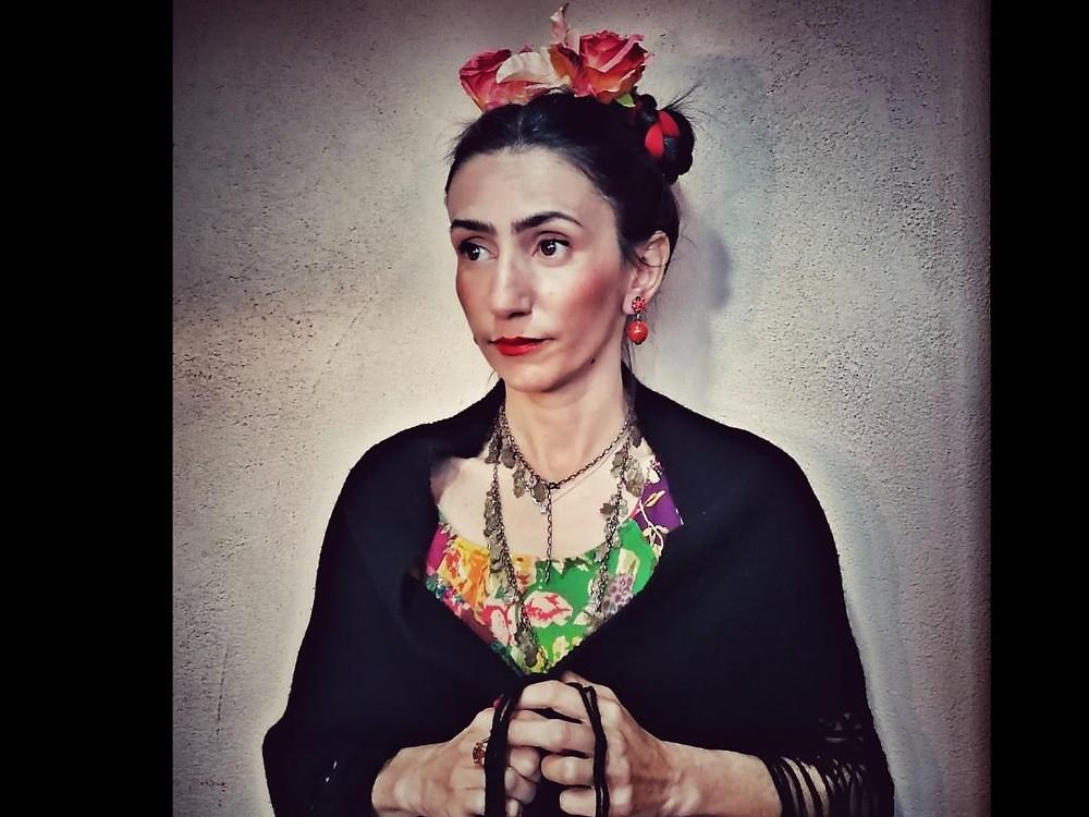 Interpretazione Frida Kahlo - Hair Queen