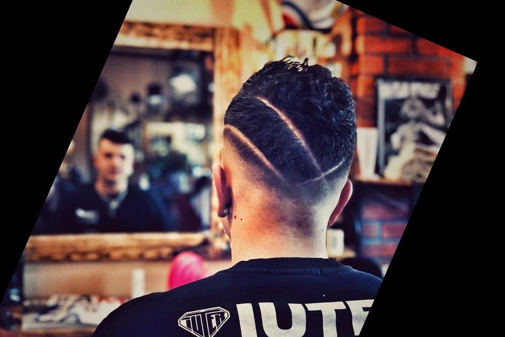 Hair cut strong