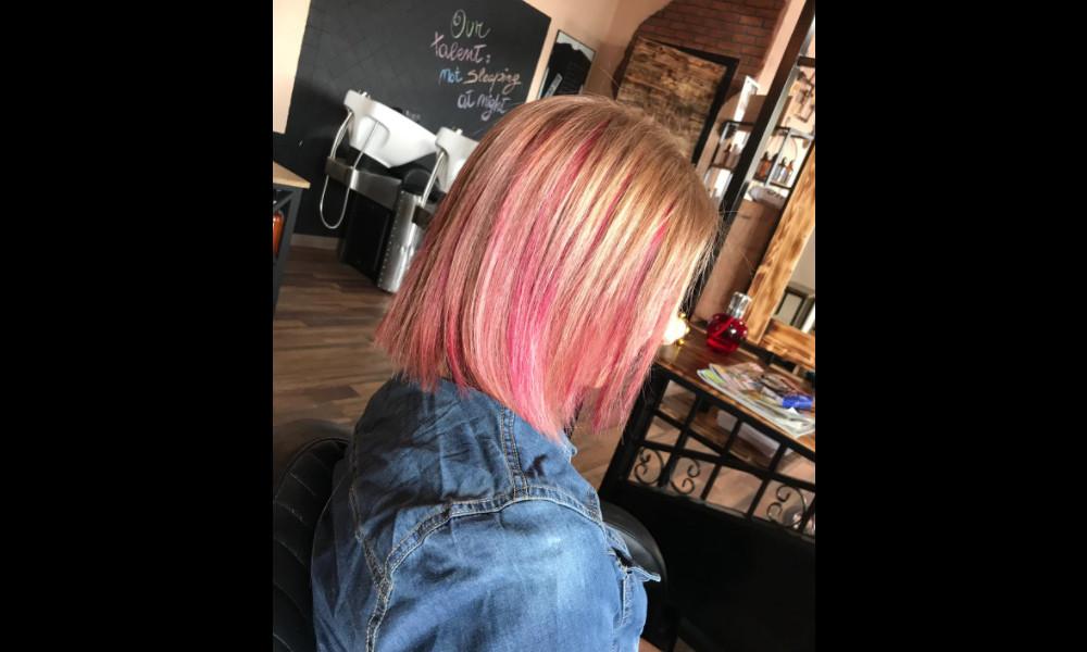 Crazy hair color