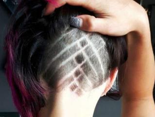 I disegni tra i capelli sono i nuovi tattoo!