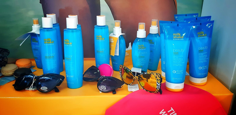 Prodotti solari per i capelli